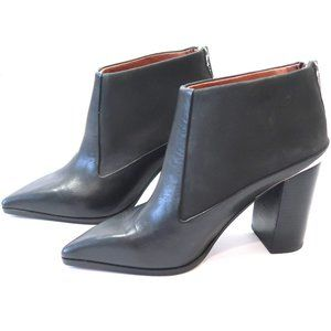 SEE BY CHLOE Carnaby Pointed Toe Ankle Booties 37